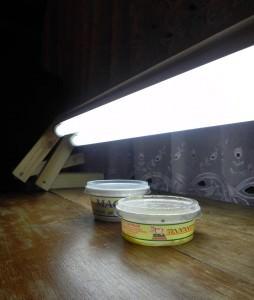 Батарея из двух ламп