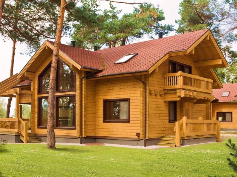 Сосна, лиственница или кедр? Из чего деревянный дом лучше