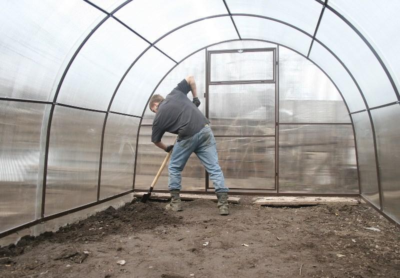 Подготовка почвы в теплице под помидоры осенью и весной