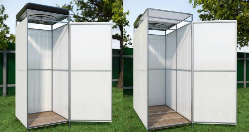 Как построить летний душ для дачи своими руками: описание и материалы