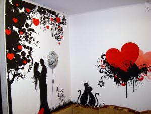 Незаурядный дом: трафареты для декора стен