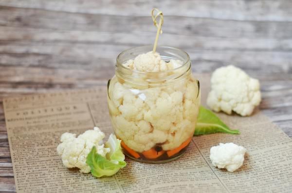 Маринованная цветная капуста: 7 невероятно вкусных рецептов