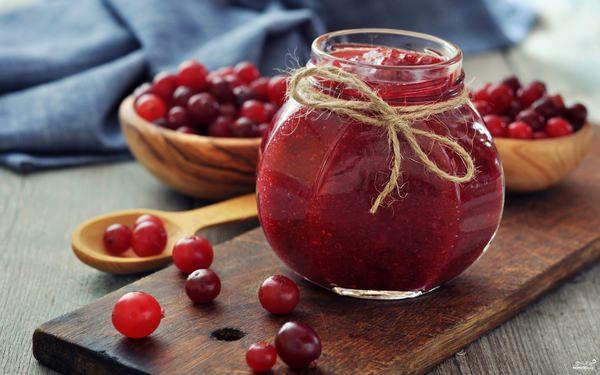 Варенье из клюквы: 5 бесподобных рецептов