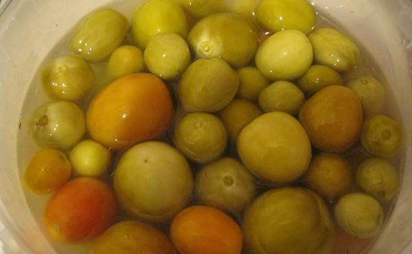 Зеленые помидоры на зиму: 6 замечательных рецептов