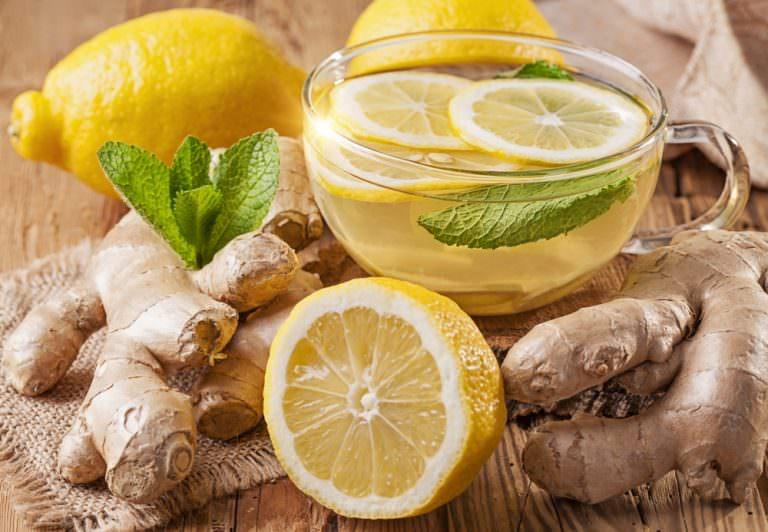 Напиток из корня имбиря для похудения