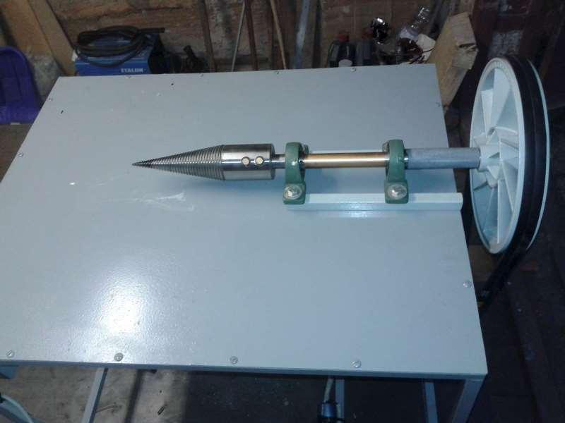 Самостоятельное изготовление винтового дровокола