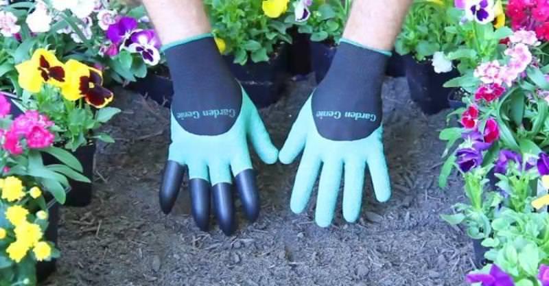 Перчатки Garden Genie Gloves - полезная новинка для дачников
