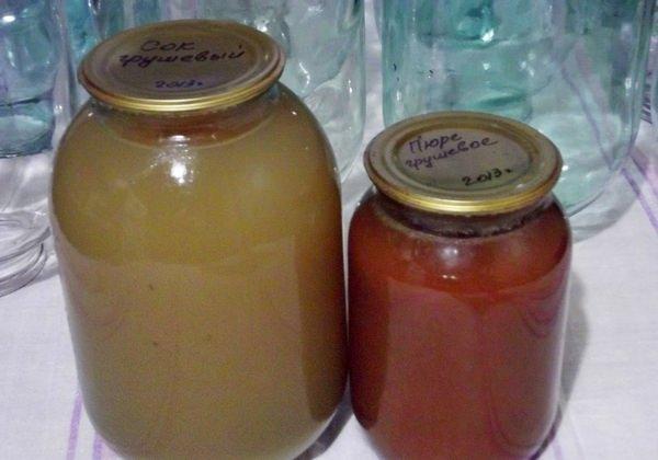 Грушевый сок: простые рецепты на зиму