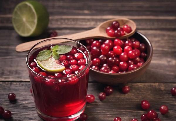 клюквенный сок на зиму