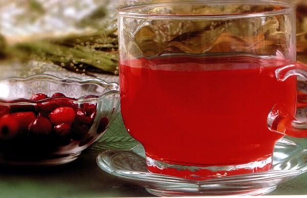 Клюквенный сок: 5 превосходных рецептов напитка