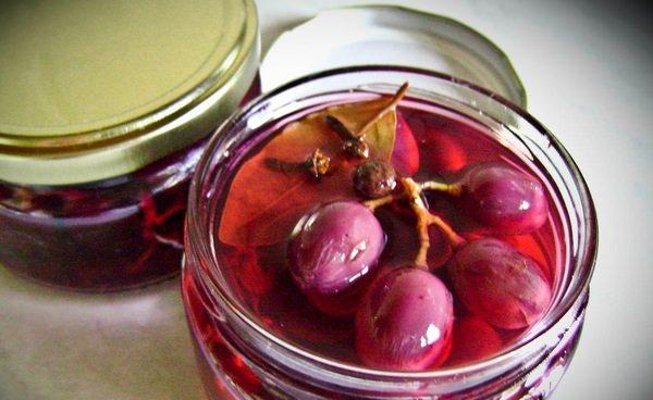 Маринованный виноград: 5 вкуснейших рецептов