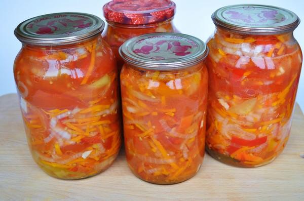 Осенний салат на зиму: 6 заготовок из любимых овощей