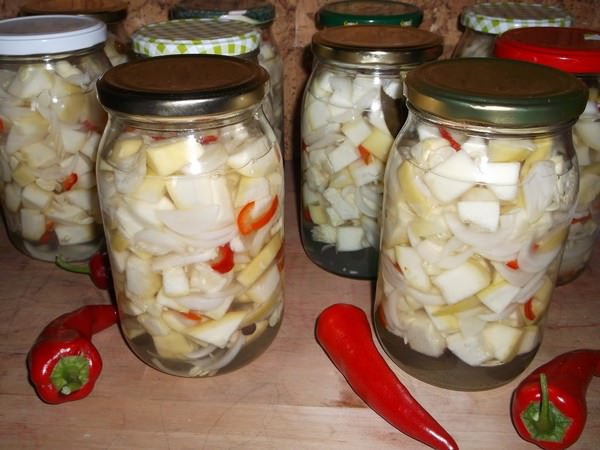Патиссоны на зиму: ТОП-6 рецептов