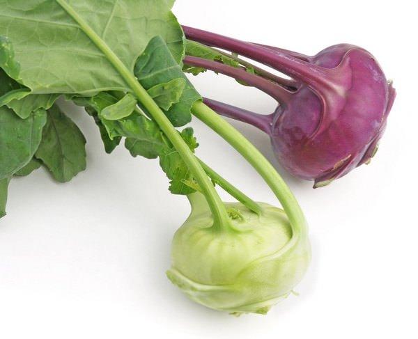 рецепты приготовления кольраби