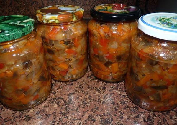 Салат из баклажанов на зиму: 6 самых вкусных рецептов