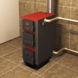 Отопление дома с использованием твердотопливного котла