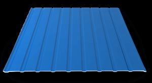 Профнастил ПС-10: эксплуатационные характеристики, области использования