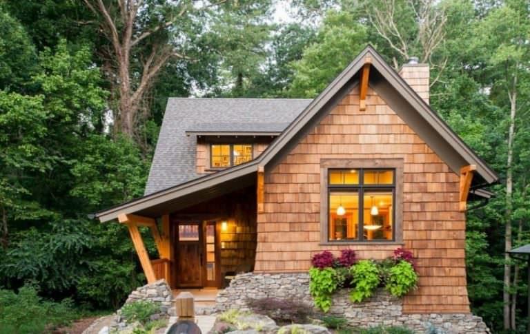 Как построить дом на даче своими руками недорого с разработкой проекта