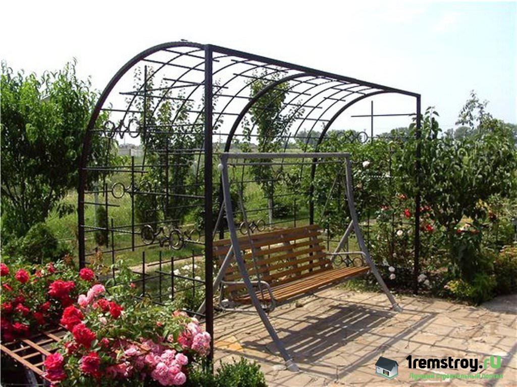 Виноградную арку своими руками